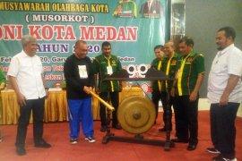 Eddy Sibarani kembali terpilih sebagai Ketua KONI Kota Medan