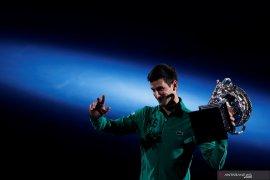 Juara Australia Terbuka, Djokovic kembali rebut peringkat satu dunia