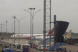 Pesawat pembawa WNI dari Wuhan tiba  di Batam