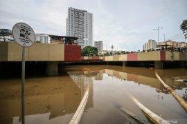 Parah, underpass Kemayoran kembali tergenang capai tujuh meter