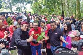 "PDIP canangkan gerakan ""Leuweung Pajajaran"" dengan penanaman bibit pohon"