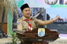Pramuka di Lebak Banten gulirkan program mencintai bumi