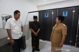 """AP I dukung kenyamanan Pura Besakih-Karangasem dengan """"public restroom"""""""