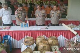 Polda Bangka Belitung tangkap dua pelaku penyalahgunaan solar bersubsidi
