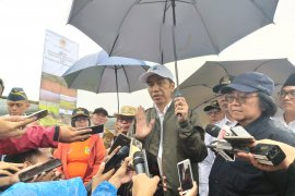 Presiden Jokowi berterima kasih pada BNPB atas kesigapan tanggulangi bencana