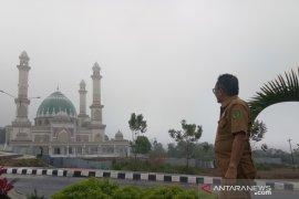 Selesai dikerjakan, CJH Tapsel 2020 akan dilepas dari masjid termegah ini