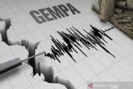 Gempa 5,8 SR guncang Pulau Enggano Bengkulu