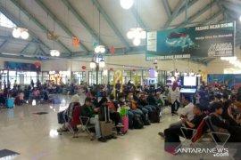 Di Bandara Sam Ratulangi, cuaca buruk pengaruhi penerbangan
