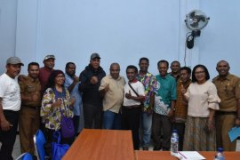Kapolda Papua bertemu Ikatan Alumni Jawa Timur di Jayapura