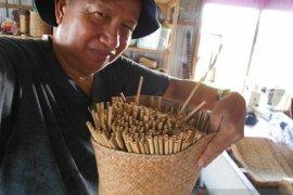 Amuntai pioner produksi sedotan dari gulma