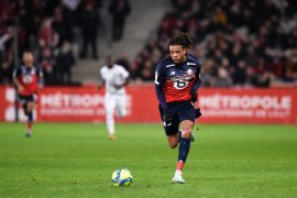 Rennes gagal ke posisi kedua setelah ditaklukkan  Lille