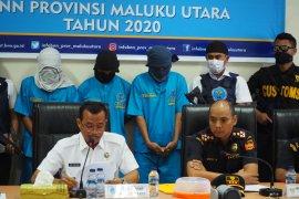 BNNP Malut ungkap jaringan narkoba asal Jakarta dan Makassar