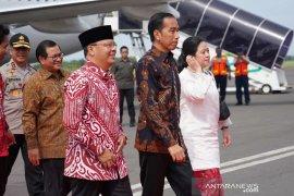 Di depan Presiden, Gubernur Bengkulu sampaikan progres pembangunan tol