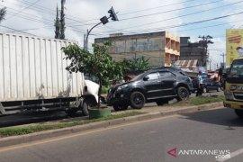 Pengemudi mobil fortuner tersangka kecelakaan beruntun