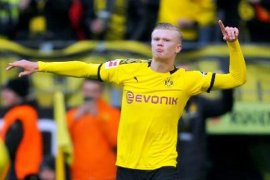 Dortmund harapkan tulah Haaland di Liga  Champions