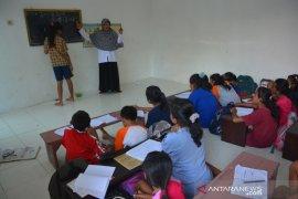 Sekolah terdampak banjir di Mojokerto