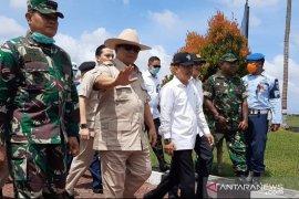 Menhan Prabowo ke Natuna cek penanganan observasi WNI