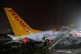 Dubes pastikan tak ada WNI korban kecelakaan pesawat di Turki