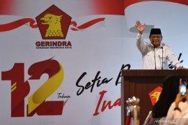 12 tahun Partai Gerindra, Prabowo rayakan bersama anak yatim piatu