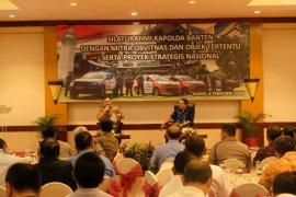 Kapolda Banten temui para pelaku usaha dan mitra objek vital nasional
