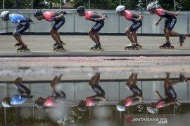 Persiapan atlet sepatu roda Jabar jelang PON Papua