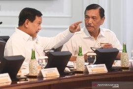 Prabowo temui Luhut bahas rencana kerja sama persenjataan dengan Abu Dhabi