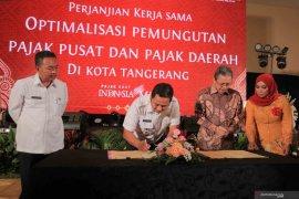 DJP Banten dan Pemkot Tangerang jalin kerja sama optimalisasi pemungutan pajak
