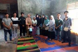 Serikat Mahasiswa Tapsel salurkan bantuan bagi korban kebakaran Sialaman