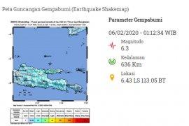 Gempa bumi Bangkalan tak berpotensi tsunami