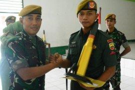 Sejumlah personel Batalyon 11/WBY pindah tugas