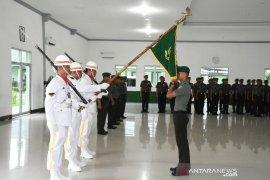 Makorem 023/KS gelar tradisi satuan sambut anggota yang baru