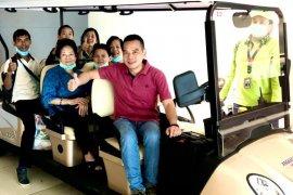 Daniel ajak keluarga nikmati Cap Go Meh di Singkawang