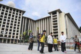 Dua pekan ini, Masjid Istiqlal putuskan tidak laksanakan shalat Jumat