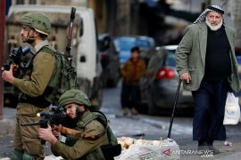 Bocah Palestina kehilangan matanya usai ditembak pasukan Israel