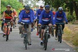 Gubernur Gowes Bersama Forkopimda Nikmati Jalan Terbaik di Bangka Belitung