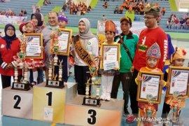 TK Nusantara Desa Delas juara senam bedincak kategori PAUD