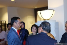 Presiden Joko Widodo tiba di Canberra