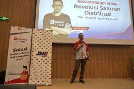 """""""YukBisnis"""" sarana JNE edukasi wirausahawan hadapi bisnis di era digital"""