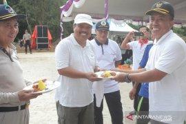 Berkah Mart dan Pasar Desa Melabun Kabupaten Bangka Tengah resmi beroperasi