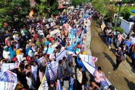 Ribuan warga Tapteng aksi damai dukung pemberantasan narkoba
