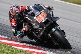 Quartararo awali seri pembuka MotoGP di Spanyol dari posisi start terdepan