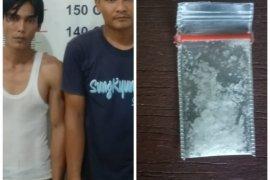 Dua pemilik sabu-sabu Kuala Langkat ditangkap polisi