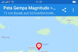 BPBD : Tidak ada korban jiwa akibat gempa magnitudo 5,6 di Seram Utara Timur