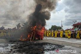Perayaan Cap Go Meh Tahun 2020 di Pontianak berakhir