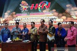HPN 2020 toreh sejarah dihadiri banyak tokoh nasional dan duta besar