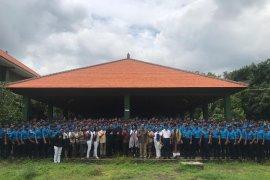 Anggota DPD  tanamkan empat pilar pada siswa SMA Taruna Mandara