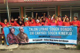 Puluhan Warga Sawahan Surabaya deklarasi dukung Eri Cahyadi maju Pilkada 2020