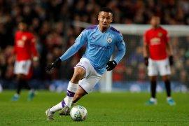 Gabriel Jesus menambah pemain cedera di Manchester City