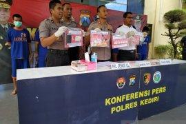 Polres Kediri ringkus delapan tersangka kasus narkoba