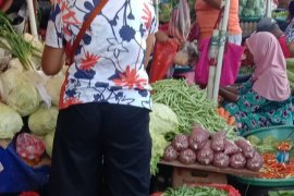Harga sayur mayur pasar Ambon naik